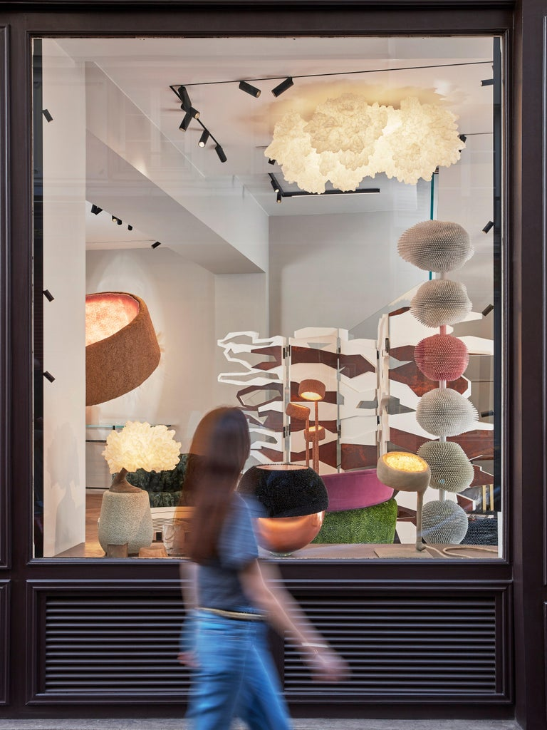 'ONCE, 2021,' a Unique Handmade Ceiling Light Sculpture by Ayala Serfaty In New Condition For Sale In Paris, FR