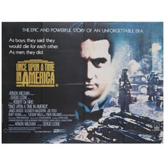 Once Upon A Time In America '1984' Poster