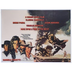 """""""Once Upon A Time In The West"""" 1968 Poster"""