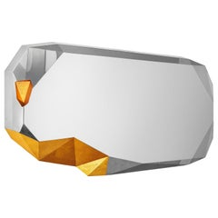 Once Upon a Time Mirror #6 Stainless Steel and Gold Customizable