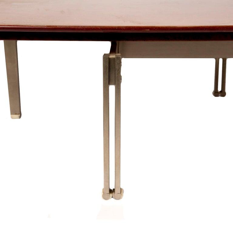 """Italian """"Onda"""" Low Table by Giovanni Ofrredi for Saporiti For Sale"""