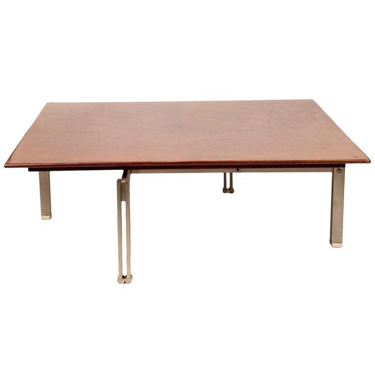 """Onda"" Low Table by Giovanni Ofrredi for Saporiti For Sale"