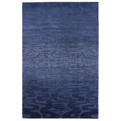 Onde Blue Carpet by Ico Parisi