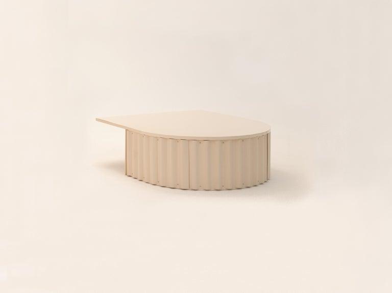 Modern Ondula Coffee Table by Flatwig Studio For Sale