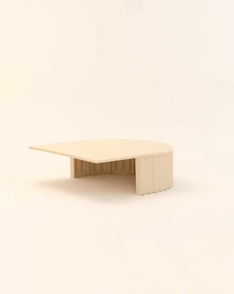 Italian Ondula Coffee Table by Flatwig Studio For Sale