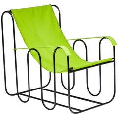 'Ondulation' Lounge Chair in the Style of Jean Royère