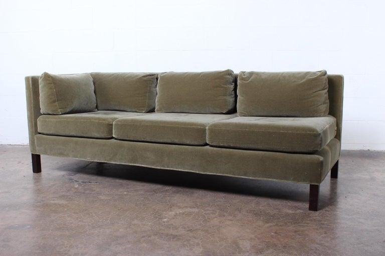 One Arm Sofa by Edward Wormley for Dunbar For Sale 2