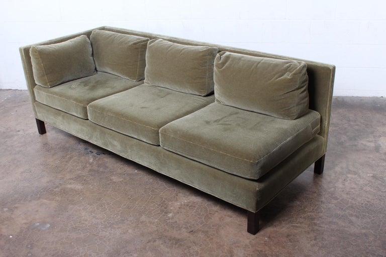 One Arm Sofa by Edward Wormley for Dunbar For Sale 3