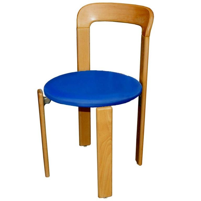 Swiss One Bruno Rey for Stendig Stacking Chair For Sale
