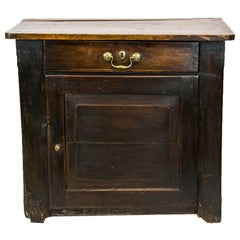 One Drawer English Pine Cupboard