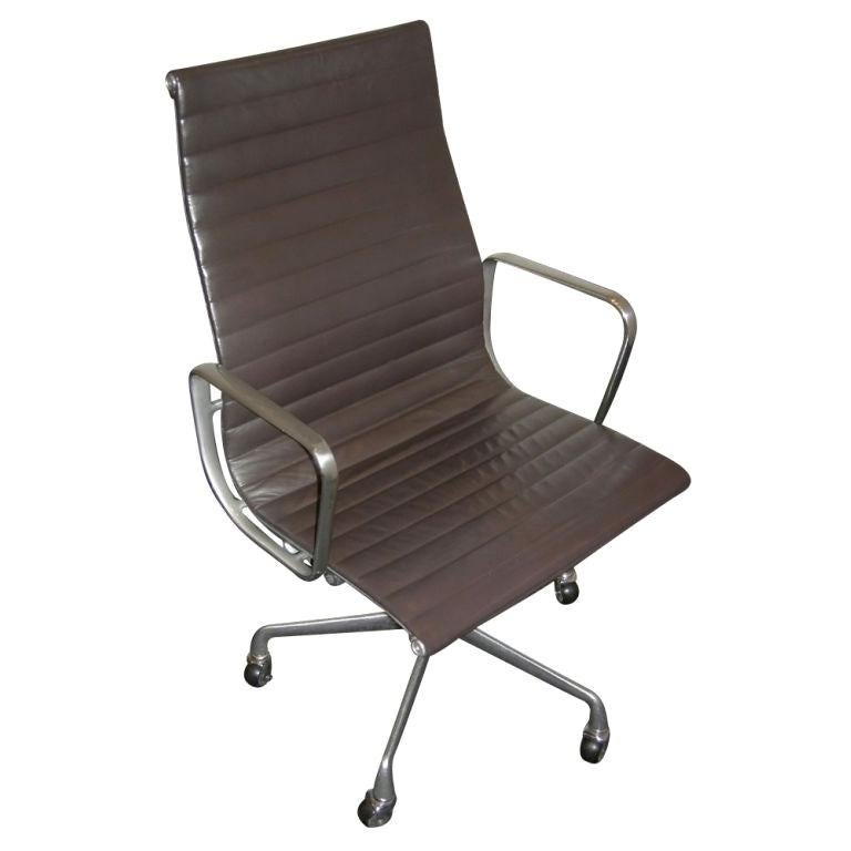 One Eames For Herman Miller Executive Chair For Sale