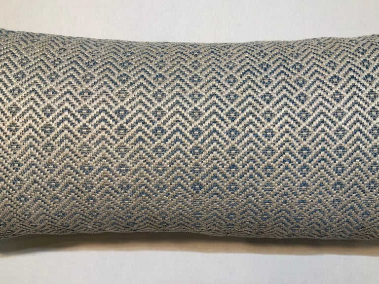 French One Geometric Motif Pillow For Sale