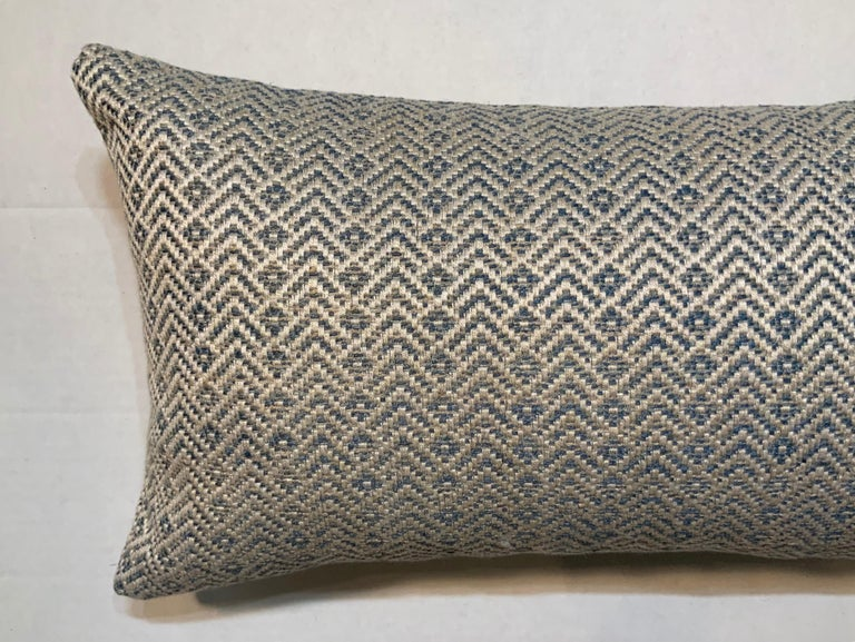 One Geometric Motif Pillow In Good Condition For Sale In Delray Beach, FL