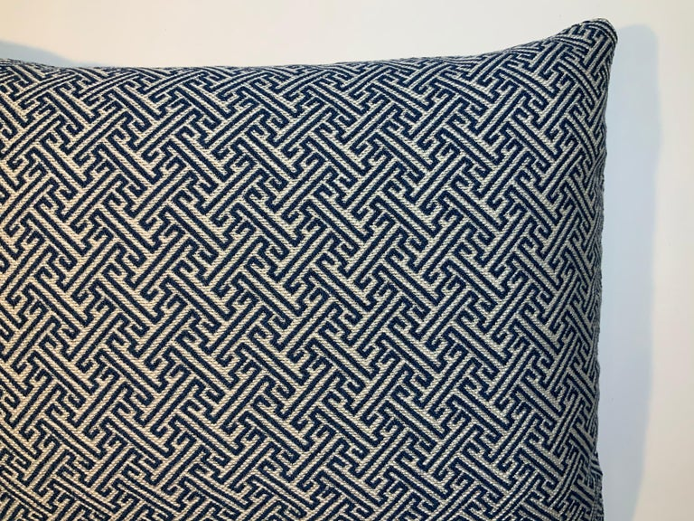 Geometric Motif Pillow For Sale at 1stDibs