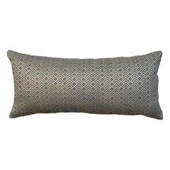 One Geometric Motif Pillow