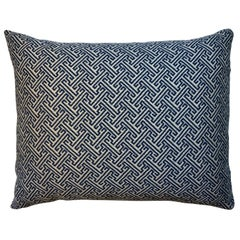 One Geometric Motif Pillow