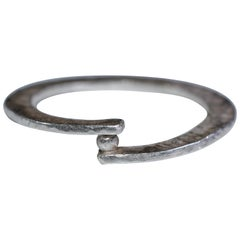 One Granule Sterling Silver Contemporary Ring and More Fashion Stackable Designs