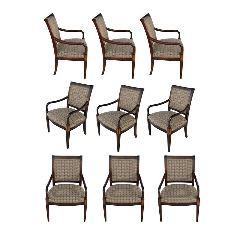 One Hickory Furniture Traditional Arm Dining Side Chair For Sale