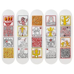 One Man Show Skateboard Decks after Keith Haring
