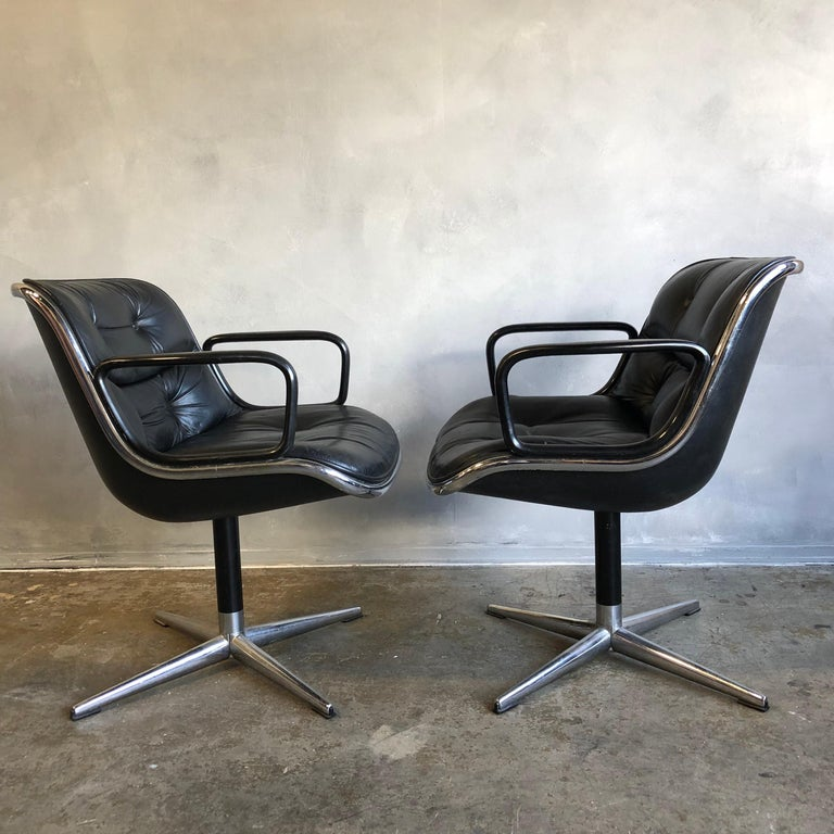 Mid-Century Modern One Midcentury First Generation Pollock Chair for Knoll For Sale