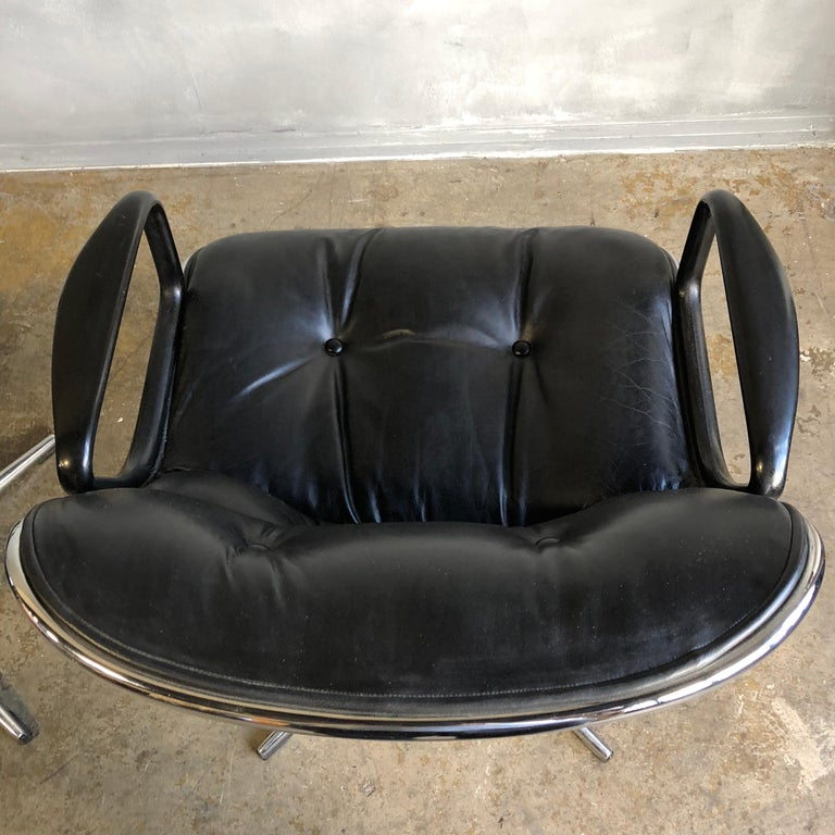 American One Midcentury First Generation Pollock Chair for Knoll For Sale