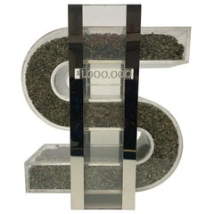 """One Million Dollars"" Sculpture"