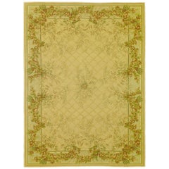 One of a Kind Handwoven Wool Area Rug  8'10 x 11'11