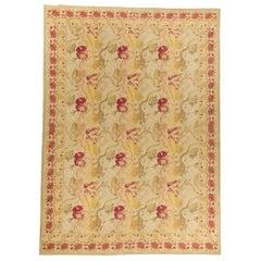 Handwoven Wool Area Rug 8'5 x 10'4
