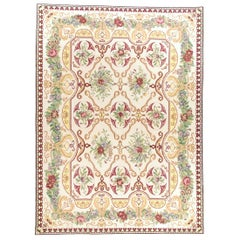 Traditional Handwoven Wool Area Runner 3' x 12'4