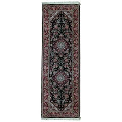 One of a Kind Antique Traditional Handwoven Wool Runner Area Rug