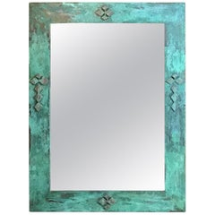 One of a Kind Bronze Mirror