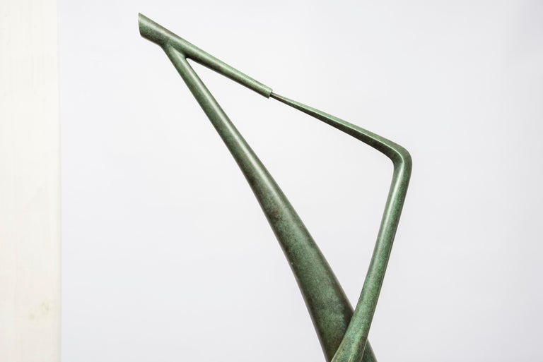 One of a kind bronze sculpture by Abel Reis