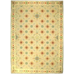 One-of-a-Kind Contemporary Handwoven Wool Area Rug