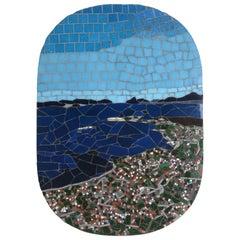 One-of-a-Kind Contemporary Mosaic ML0218 by Brazilian Artist Mariana Lloyd, 2020