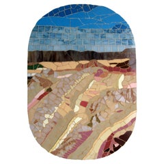 One-of-a-Kind Contemporary Mosaic ML1701 by Brazilian Artist Mariana Lloyd, 2020