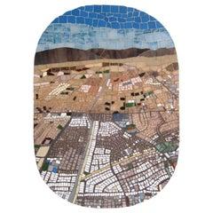 One-of-a-kind Contemporary Mosaic ML7048 by Brazilian Artist Mariana Lloyd, 2020