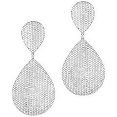 Diamant-Ohrringe, Unikat