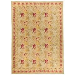 Handwoven Wool Area Rug 8'3 x 10'3