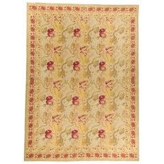 Handwoven Wool Area Rug   9' x 12'