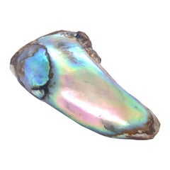 One of a Kind Natural Saltwater Abalone Pearl of Impressive Size