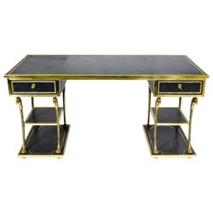 One of a Kind Neoclassical Desk by Maison Ramsay