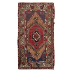 One-of-a-Kind Oriental Rug, Vintage Wool Carpet for Home & Office Decor, 3.6x6.6