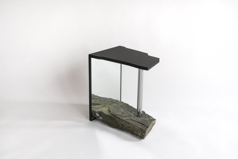 Post-Modern One-of-a-kind Side Table by Simon Johns 'Missisquoi 11' For Sale
