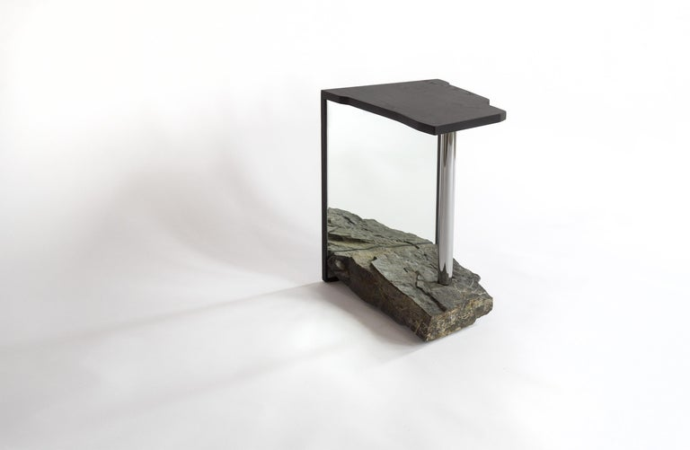 Contemporary One-of-a-kind Side Table by Simon Johns 'Missisquoi 11' For Sale