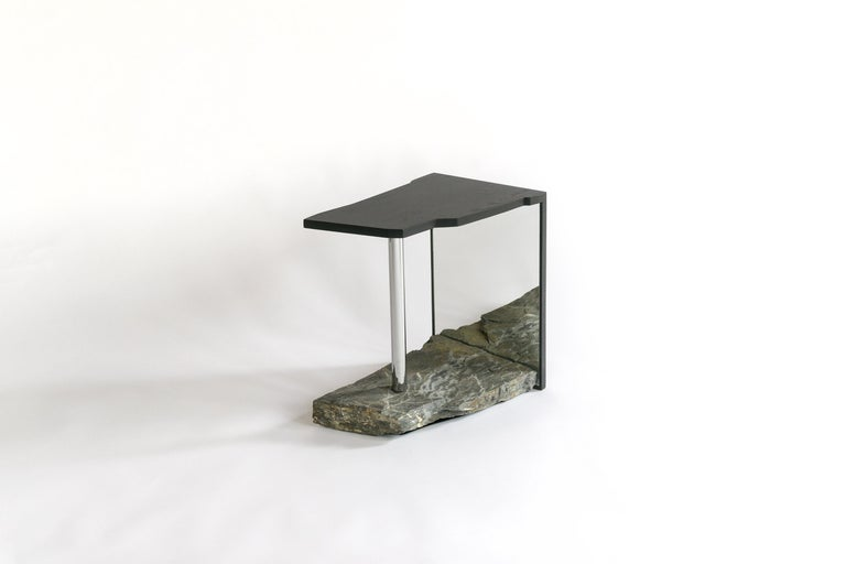 One-of-a-kind Side Table by Simon Johns 'Missisquoi 11' For Sale 1