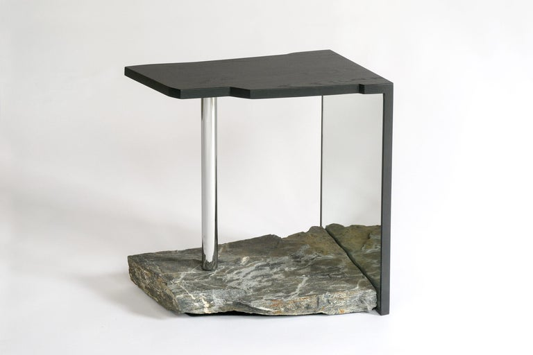 One-of-a-kind Side Table by Simon Johns 'Missisquoi 11' For Sale 2