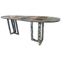 One of a Kind Silver Surfer Convertible Desk and Coffee Table