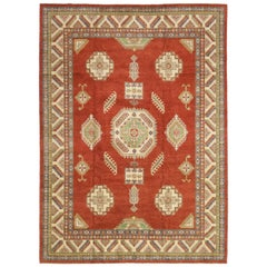 One-of-a-Kind Southwestern Wool Hand Knotted Area Rug, Tuscan