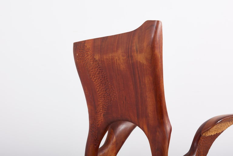 One of a Kind Studio Charles B. Cobb Armchair, US, 1977 For Sale 4