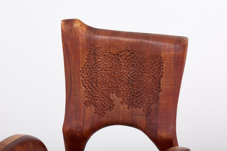 One of a Kind Studio Charles B. Cobb Armchair, US, 1977 For Sale 5
